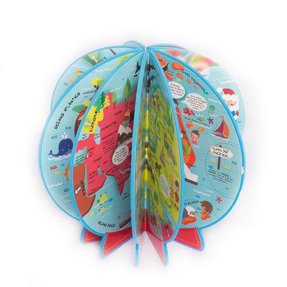 Livro Globo Meu Primeiro Atlas em 3D