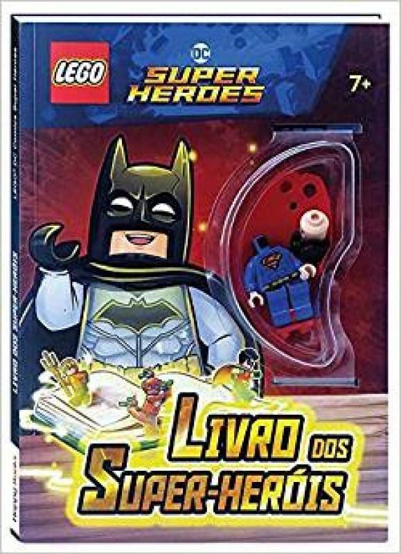 Livro Lego Super Heróis