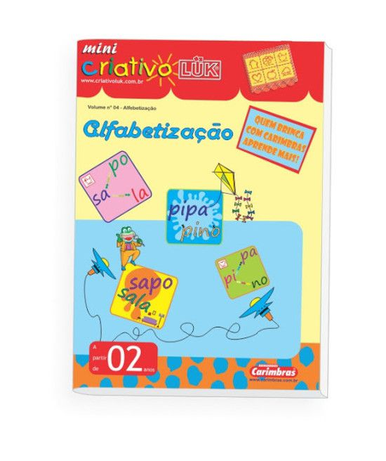 Livro Mini Criativo Lük Volume 4 - Alfabetização