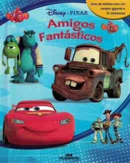 Livro Miniaturas Amigos Fantásticos
