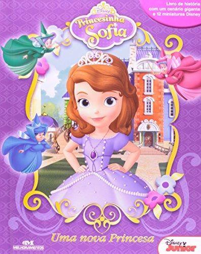 Livro Miniaturas Princesinha Sofia - Uma Nova Princesa