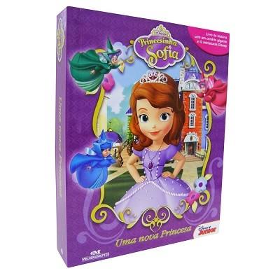 Livro Miniaturas Princesinha Sofia Uma Nova Princesa