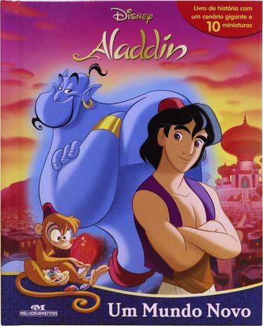 Livro Miniaturas Aladdin