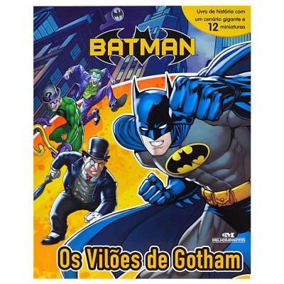 Livro Miniaturas Batman Os Vilões de Gotham