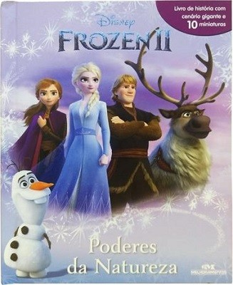 Livro Miniaturas - Frozen 2, Poderes da Natureza