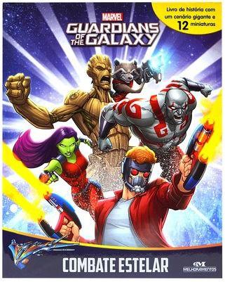 Livro Miniaturas Guardiões da Galáxia - Combate Estelar