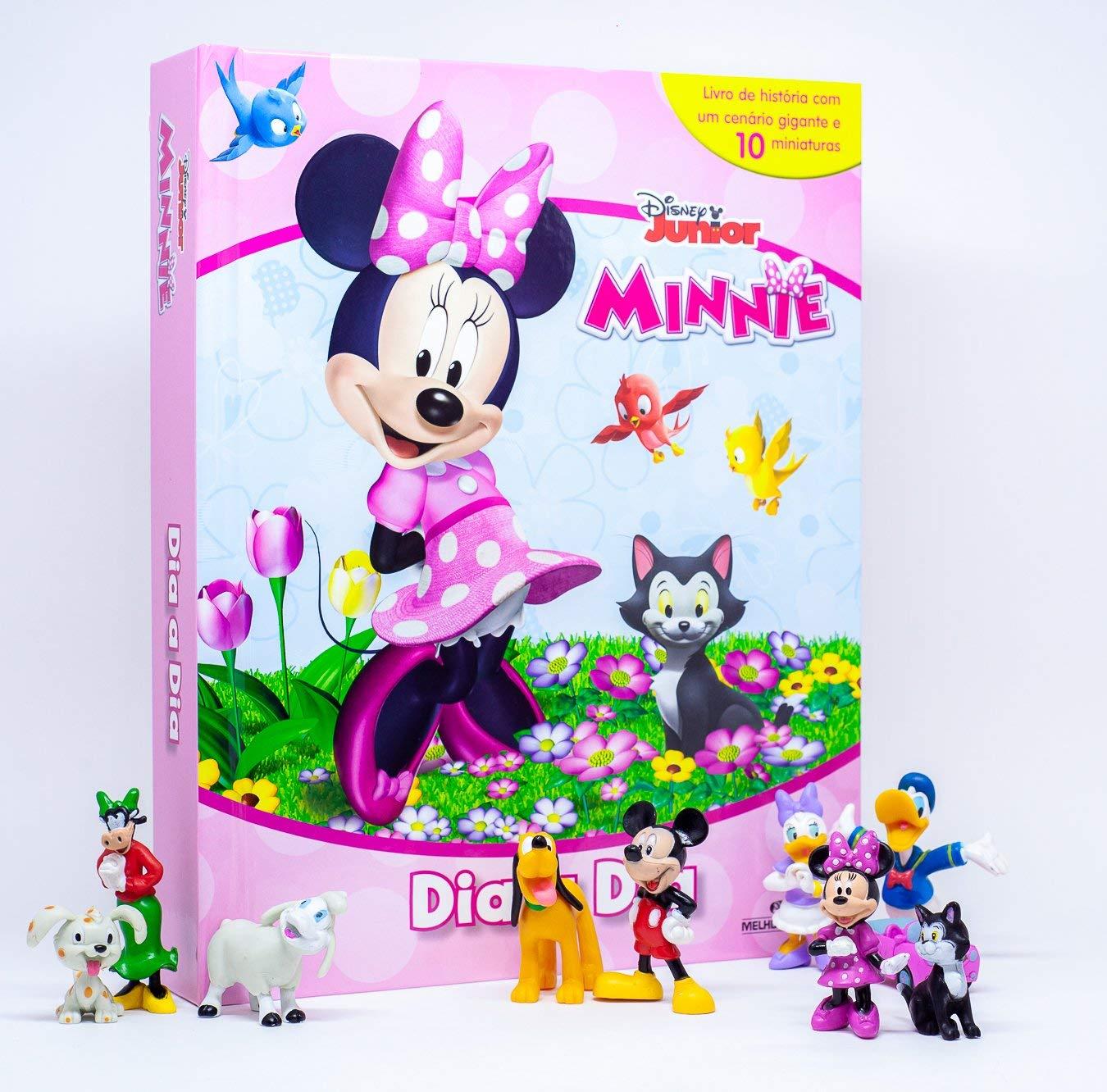 Livro Miniaturas Minnie