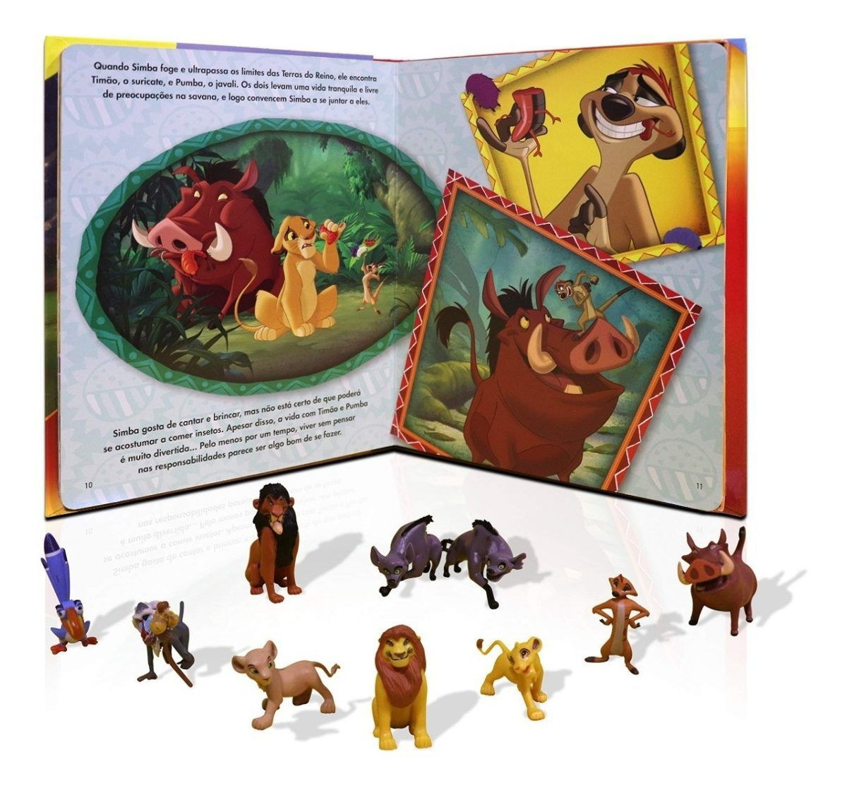Livro Miniaturas O Rei Leão - O Ciclo da Vida