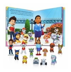 Livro Miniaturas Paw Patrol - Missão Resgate