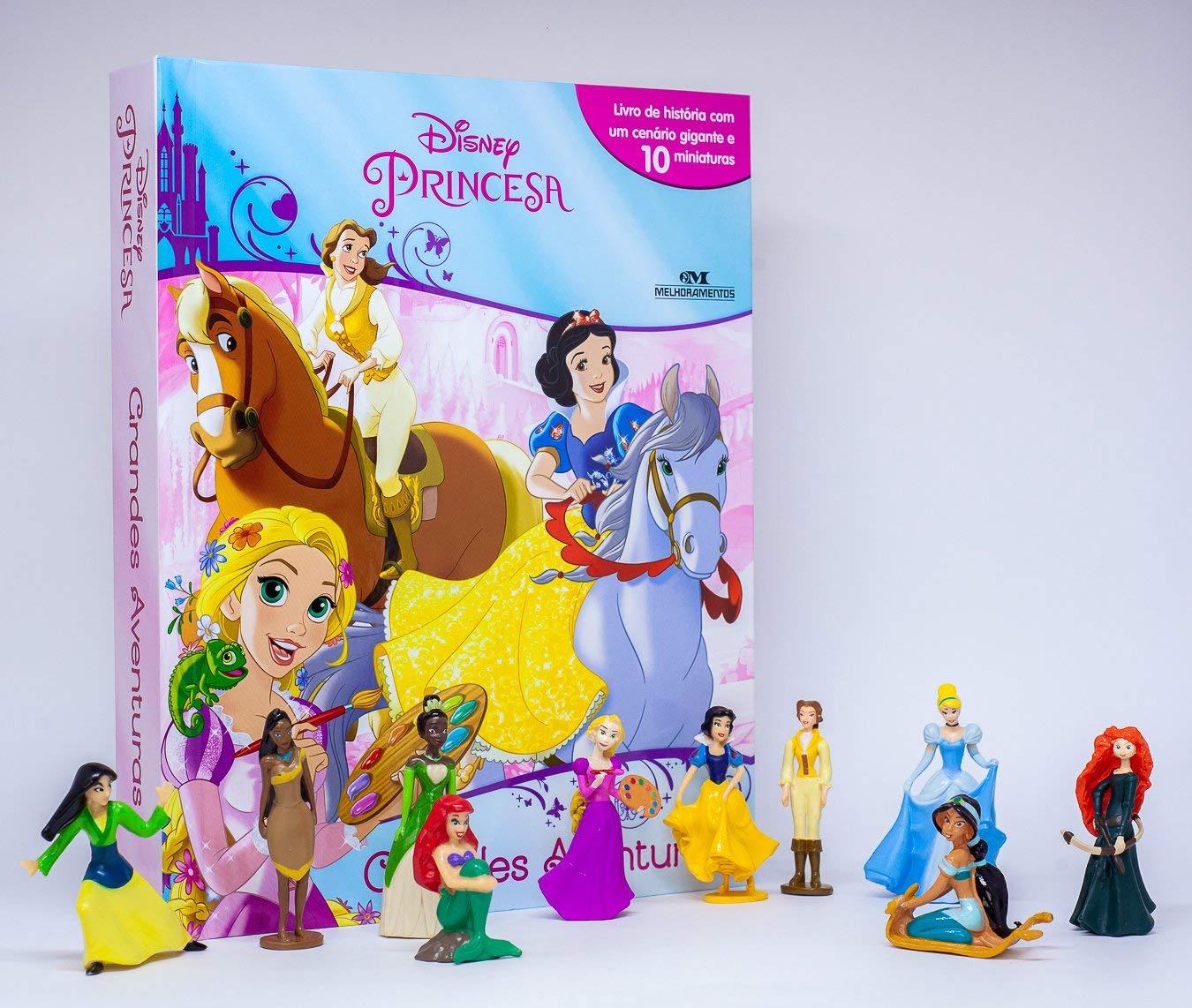 Livro Miniaturas - Princesa Grandes Aventuras