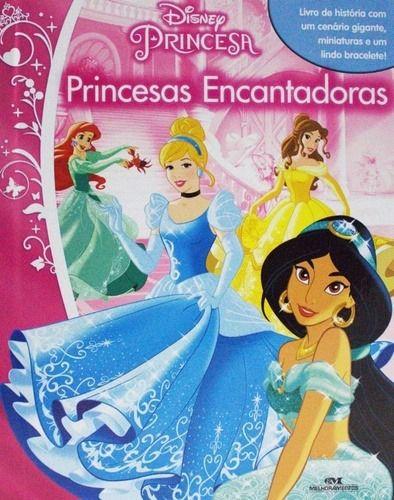 Livro Miniaturas Princesa - Princesas Encantadas
