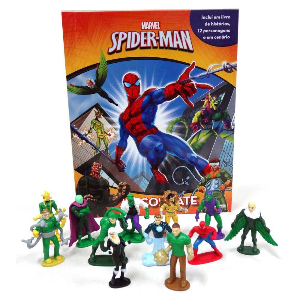 livro Miniaturas Spider-Man - Universo Aranha
