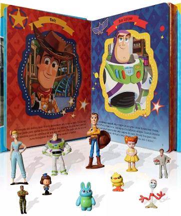 Livro Miniaturas Toy Story 4 - Amigos para a Vida