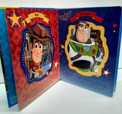 Livro Miniaturas Toy Story 4 Amigos para a Vida