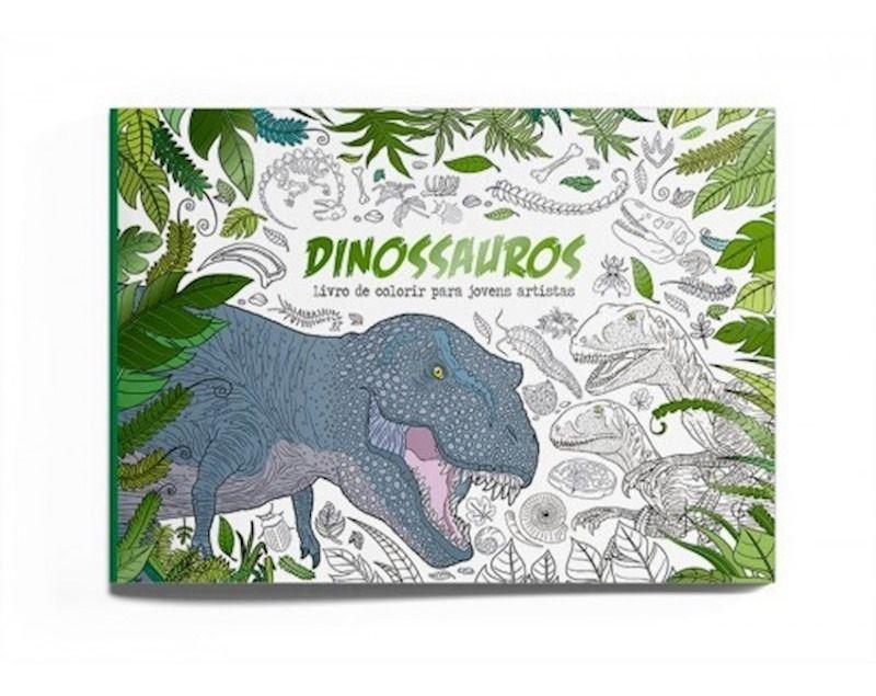 Livro para Colorir - Dinossauros