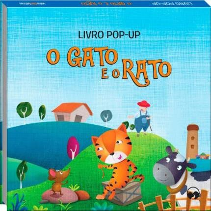 Livro Pop-Up - O Gato e o Rato