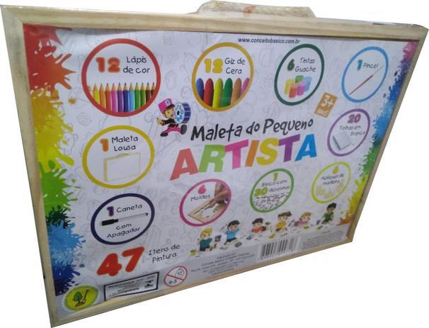 Maleta do Pequeno Artista 47 Peças
