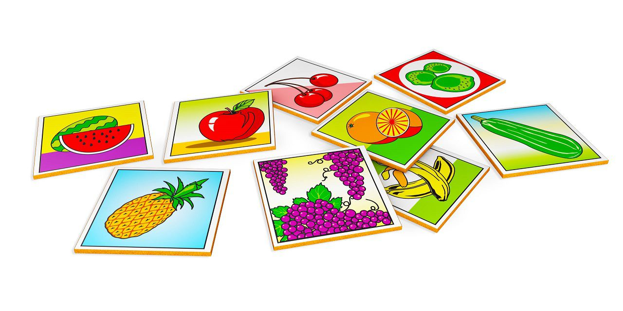 Memória Frutas e Hortaliças