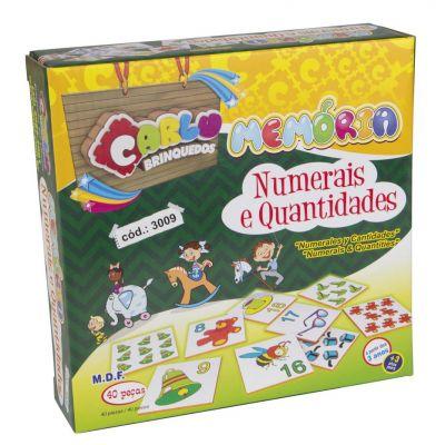 Memória Numerais e Quantidades