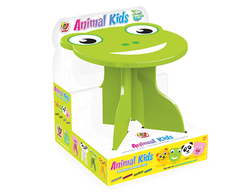 Mesa com Banquinho Animal Kids - Sapo