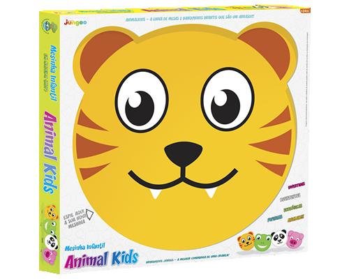Mesa com Banquinho Animal Kids - Tigre