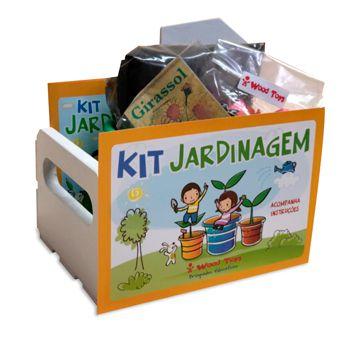 Mini Kit Jardinagem