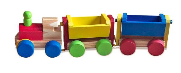 Mini Trem de Carga
