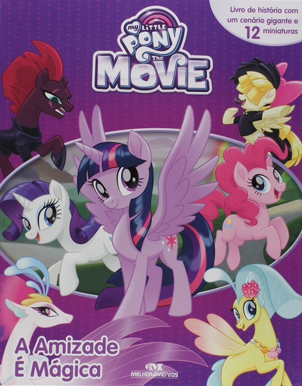 Livro Miniaturas My Little Pony - A Amizade é Mágica