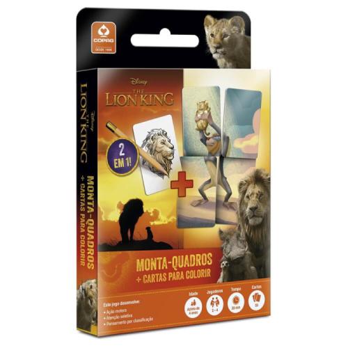 O Rei Leão- Monta quadros + Cartas para Colorir
