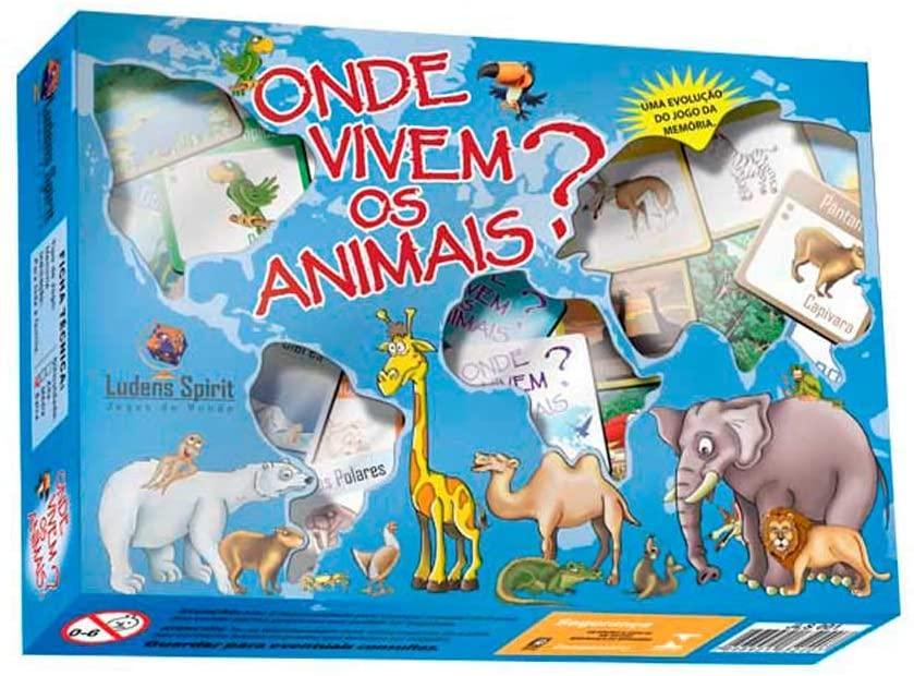 Onde Vivem os Animais?