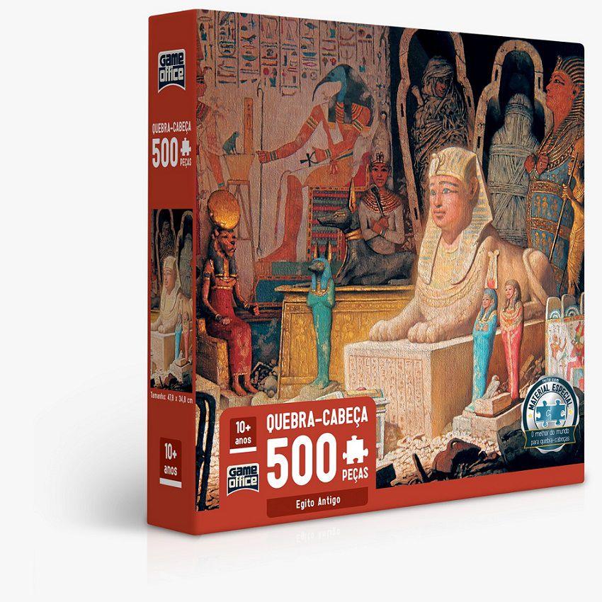 Quebra-Cabeça 500 Peças Egito Antigo