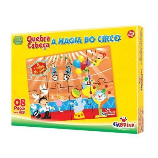 Quebra-Cabeça A Magia Do Circo