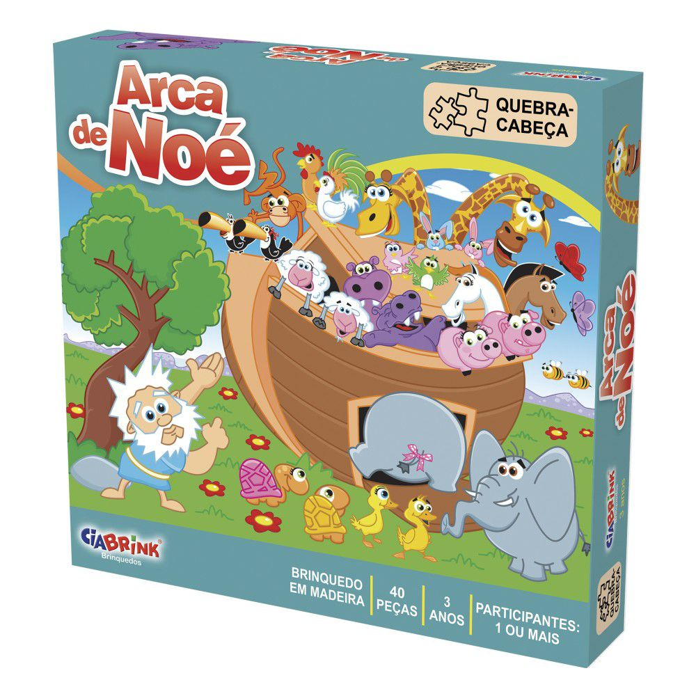 Quebra - Cabeça - Arca de Noé