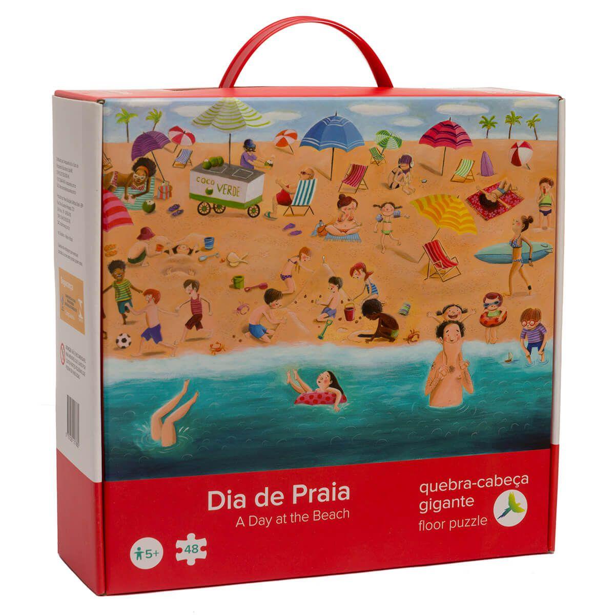 Quebra-Cabeça Dia de Praia
