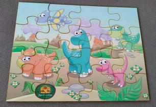 Quebra-Cabeça - Dinossauros