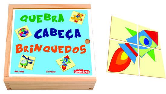 Quebra-Cabeça em Madeira Brinquedos