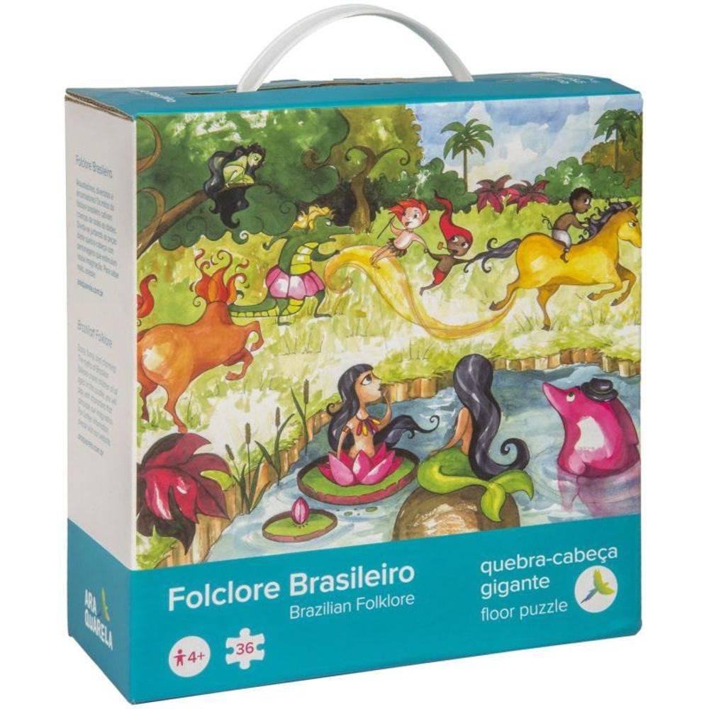 Quebra-Cabeça Folclore Brasileiro