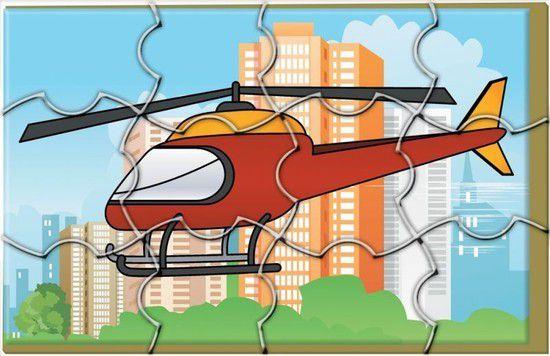 Quebra-Cabeça Meios de Transportes