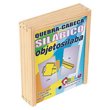 Quebra-Cabeça Objetosilába