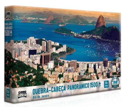 Quebra - Cabeça - Rio de Janeiro 1500 peças