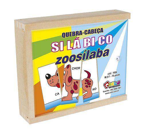 Quebra-Cabeça Silábico Zoosílaba