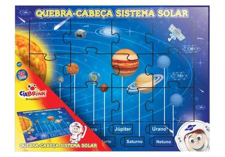 Quebra - Cabeça - Sistema Solar