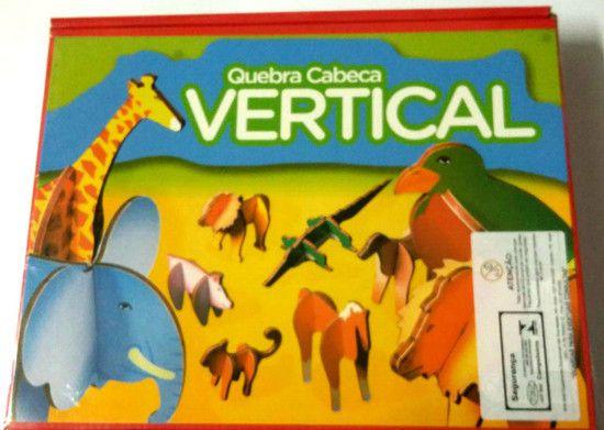 Quebra-Cabeça Vertical Animais