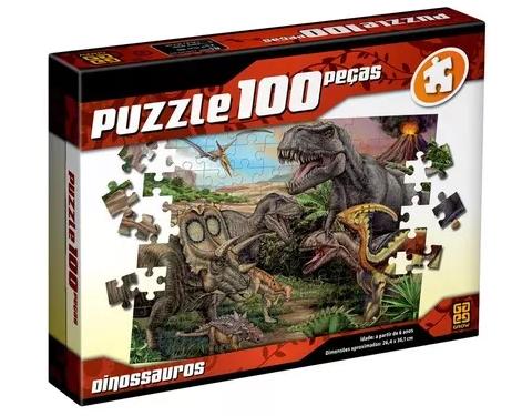 Quebra-Cabeças Puzzle 100 peças