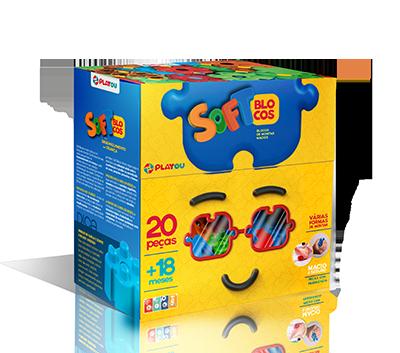 Soft Blocos 20 Peças