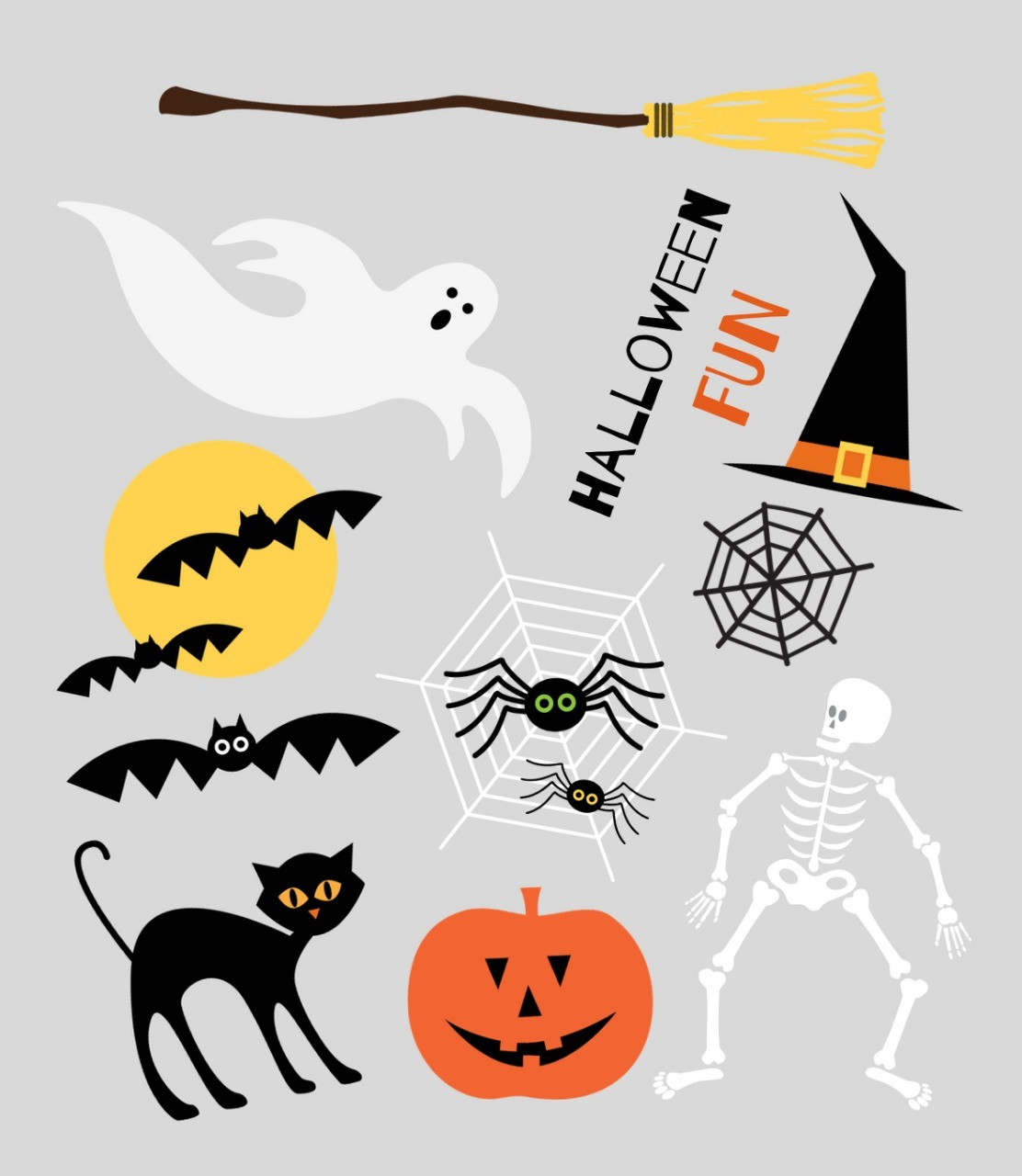 Tatuagem Temporária - Halloween I