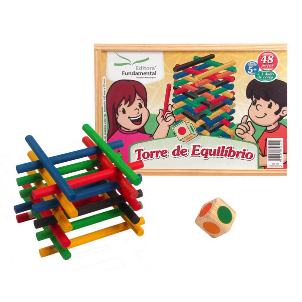 Torre de Equilíbrio - Editora Fundamental