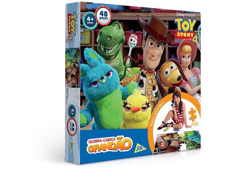 Toy Story 4 Quebra-Cabeça Grandão 48 Peças