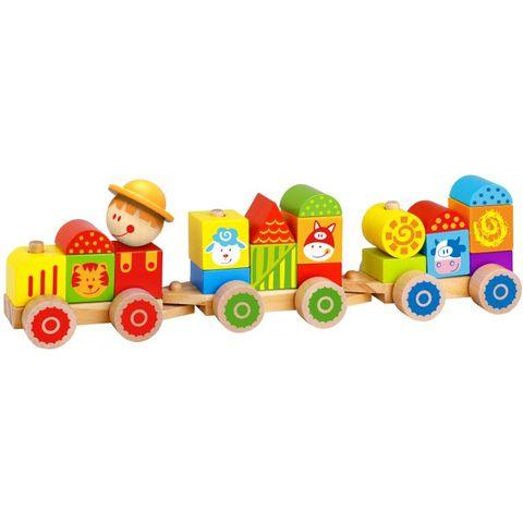 Trem de Blocos – Fazenda