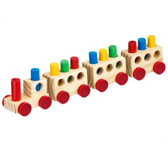 Trem Pedagógico com Pinos